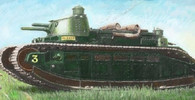 """Francouzská """"Pozemní bitevní loď"""" byl nejtěžší tank. Skončil naprostou ostudou! - anotační foto"""