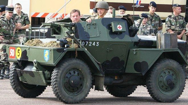 Daimler Scout Car