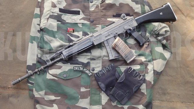 útočná puška INSAS