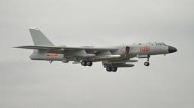 Temný stín nad Pacifikem: Je čínský bombardér schopen potopit letadlovou loď? - anotační foto