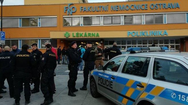 Střelba ve Fakultní nemocnici v Ostravě