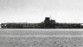 Japonci postavili mamutí letadlovou loď. Americká ponorka si z ní udělala cvičný terč! - anotační foto