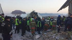 Zřícení letadla v Kazachstánu