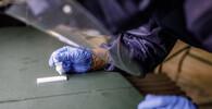 Testování na koronavirus, ilustrační foto
