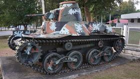 Japonský tank Ha-gó byl jako plechovka od sardinek. Přesto vítězil! - anotační foto