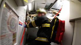 U Českého Brodu se srazily dva vlaky. Na místě jsou desítky zraněných a jeden mrtvý - anotační foto