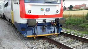 Vykolejení vlaku u Medlešic (15.7.2020)