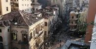 Mohutná exploze v libanonském Bejrútu: 70 mrtvých a 3700 zraněných - anotační foto