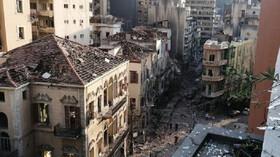 Katastrofa v Bejrútu: Exploze srovnala přístav se zemí, spekuluje se o příčinách - anotační foto