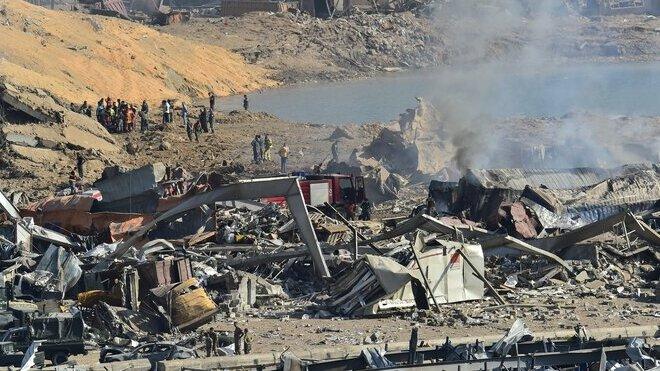 Exploze v libanonském Bejrútu