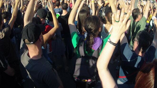 Demonstrace, ilustrační foto