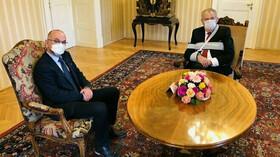Jan Blatný a Miloš Zeman
