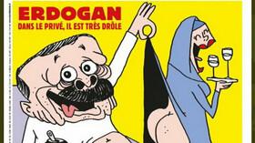 Turecko pohrozilo týdeníku Charlie Hebdo za karikaturu Erdogana - anotační foto