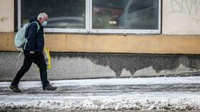 Zimní počasí v Česku, mráz trápí chodce i řidiče