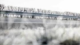 Východ Česka zasypal sníh - anotační foto