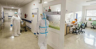 Počet pacientů s covidem ve vážném stavu byl v pondělí rekordní - anotační obrázek