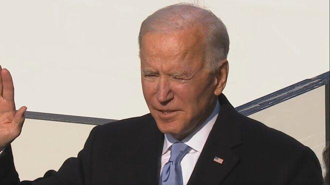Joe Biden složil prezidentskou přísahu.