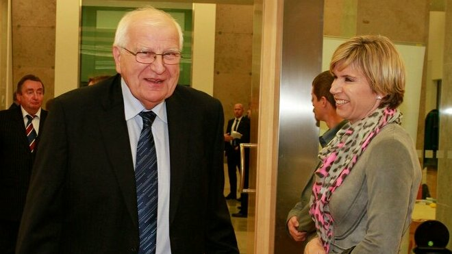 Otakar Černý a Kateřina Neumannová.