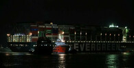 Loď Ever Given dlouhá 400 metrů