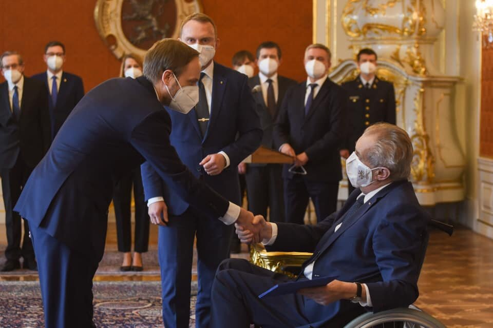 Prezident Zeman jmenoval novým ministrem zahraničí Jakuba Kulhánka