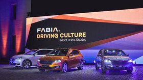 Škoda Fabia čtvrté generace.