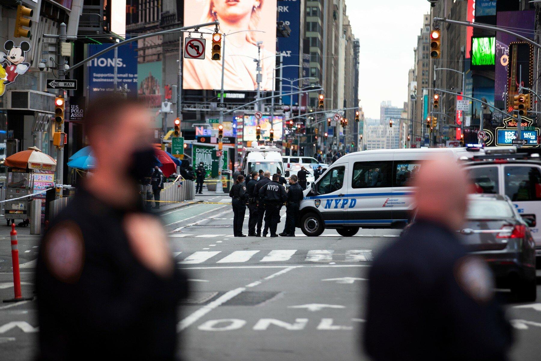 V New Yorku postřelili dvě ženy a dítě - anotační foto