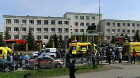Několik mrtvých po střelbě ve škole v Kazani