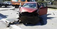 Na D35 u Olomouce kvůli popraskané vozovce havarovalo pět aut