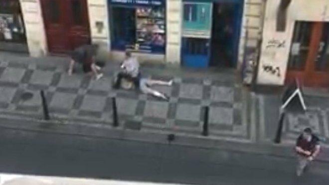 vražda úřednice na úřadu práce v Praze (29. 6. 2021), autor videa: Jaroslav Šejko