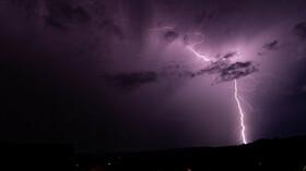 Bouřka, ilustrační foto