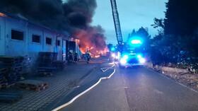 V Pražských Letňanech hořela hala veletržního areálu