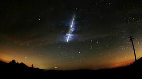 Meteorit, ilustrační fotografie.