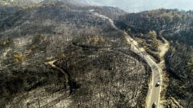 Turecko spalují požáry