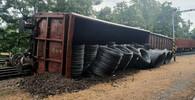 U Kralup nad Vltavou vykolejil nákladní vlak