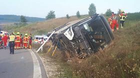V Bavorsku havaroval autobus s českými turisty. (21.8.2021)
