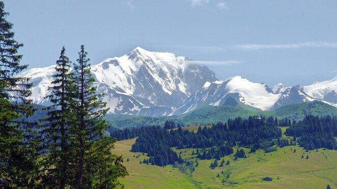 Mont Blanc, ilustrační fotografie.