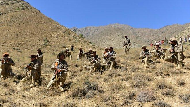 Vzbouřenci v Pandžšíru