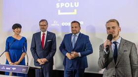 Markéta Pekarová Adamová, Petr Fiala, Marian Jurečka