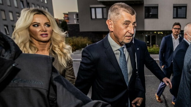 Volby 2021: Monika Babišová a Andrej Babiš